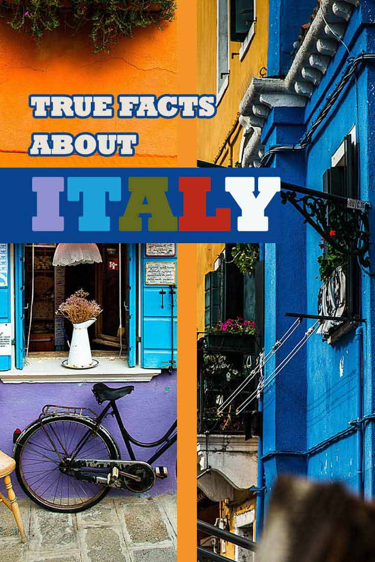 True facts about Italy Misstouristcom