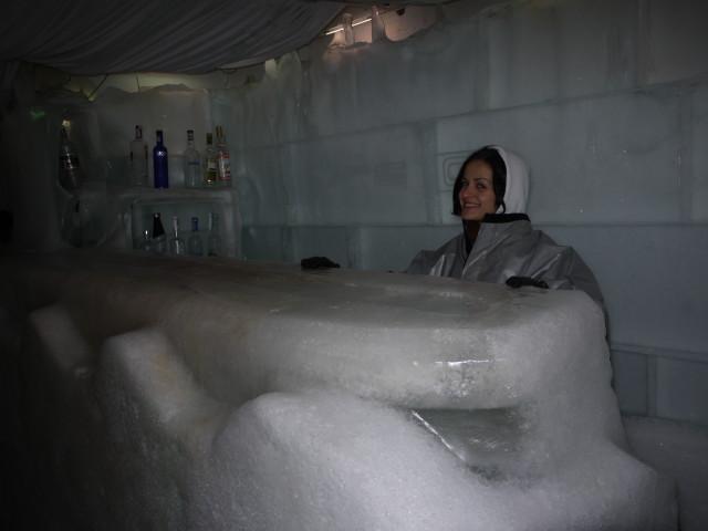 Bar in Ice Club