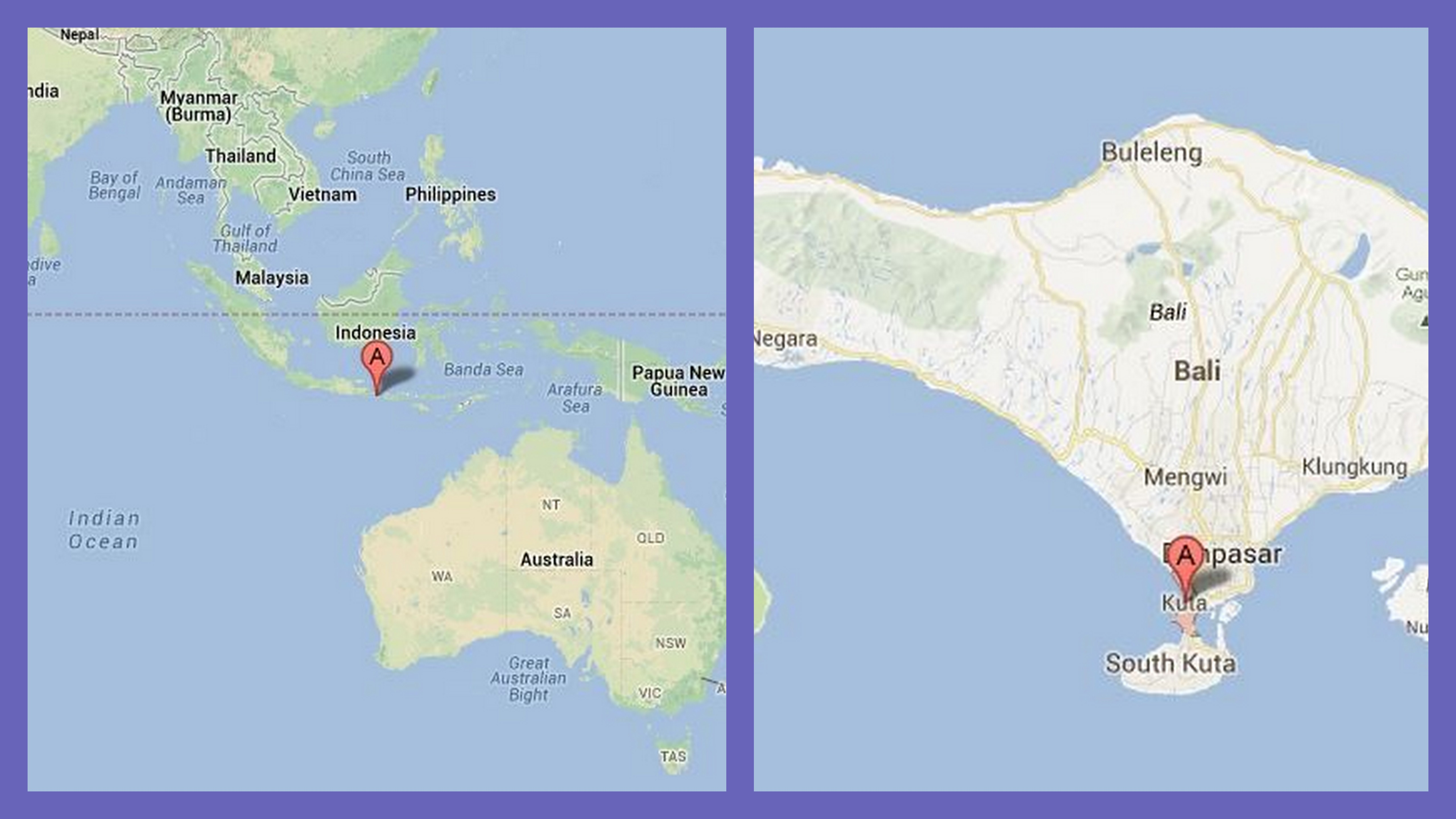 Bali nesia what you should know about the island bali on the map gumiabroncs Choice Image