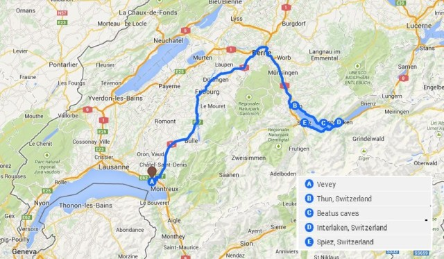 roadtrip switzerland