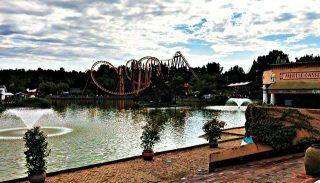 Parc Asterix roller coaster