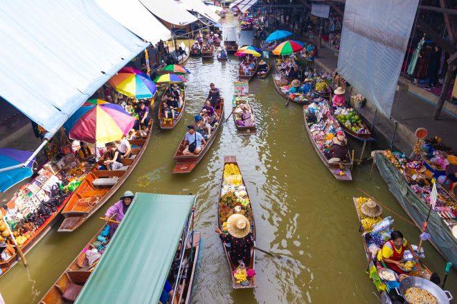3 Days in Bangkok – Your Perfect Itinerary Damnoen Saduak Floating Market