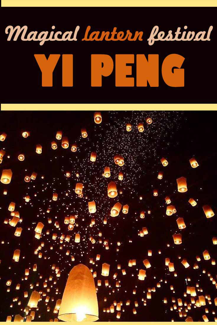 Magical lantern festival Yi Peng Chiang Mai Thailand Misstouristcom