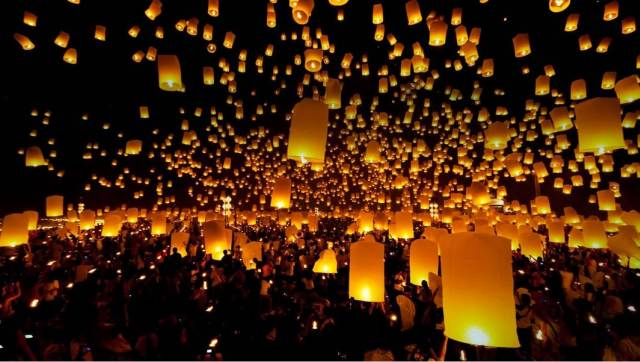lantern festival chiang mai 1