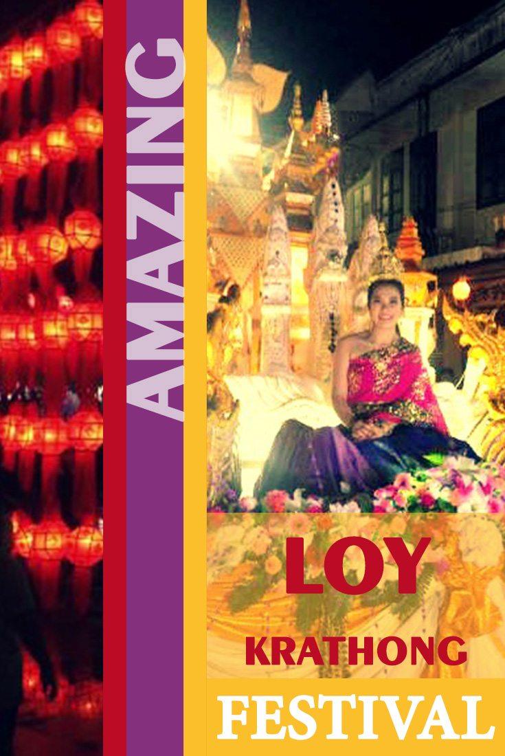 amazing loy krathong festival Thailand Misstouristcom