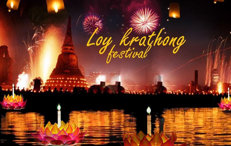 Loy Ktathong festival