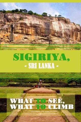Sigiriya, Sri Lanka - what to see, what to climb misstouristcom