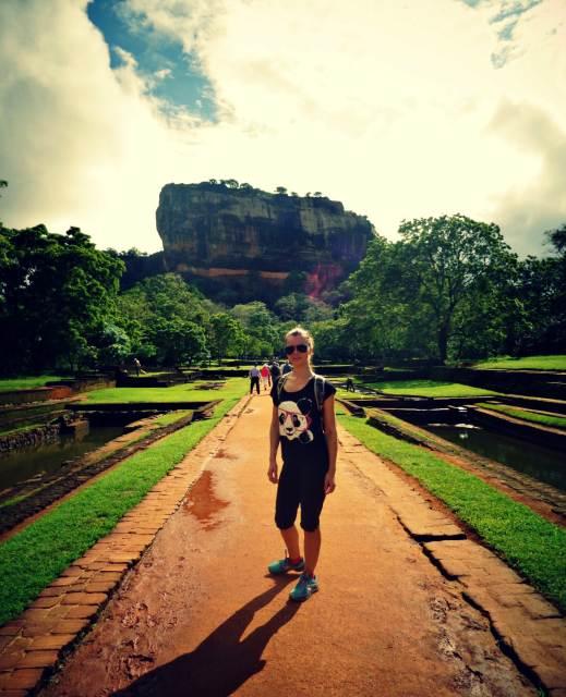 Sigiriya entrance