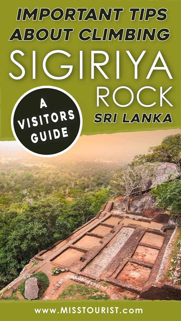 what to visit sigiriya