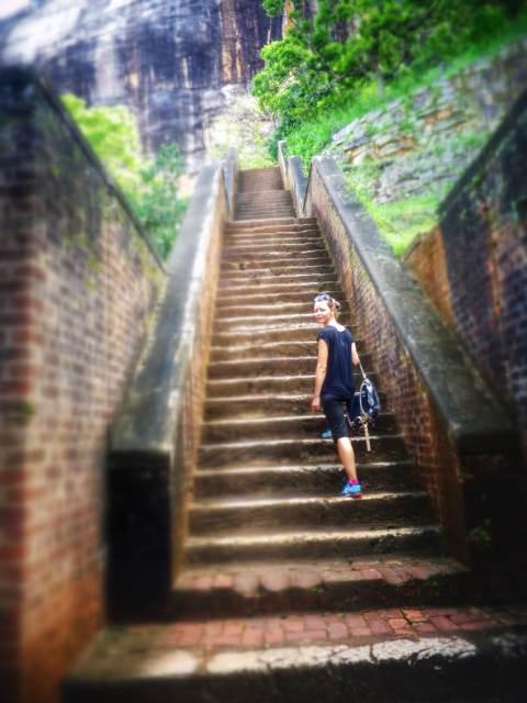 Stairs Sigiriya