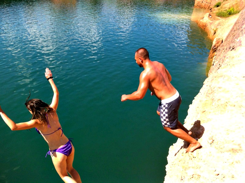 cliffs jumping chiang mai