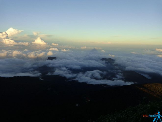 view from Adams peak