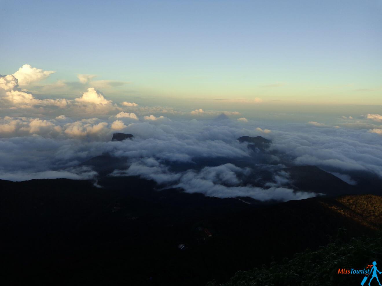 view from Adams peak