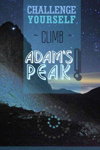 Challenge yourself climb Adam's Peak Sri Lanka misstouristcom
