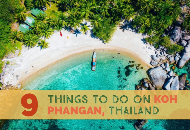 9 Things To Do On Koh Phangan cover