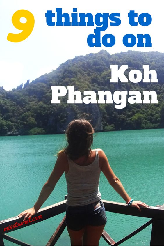 9 things to do on Koh Phangan misstouristcom
