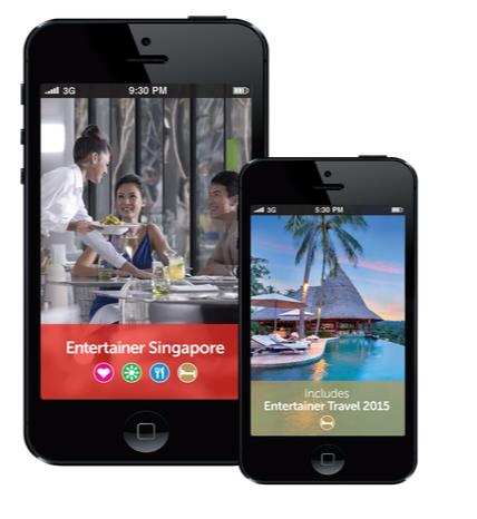 Entertainer Singapore application