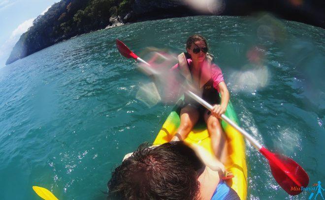 Kayaking Koh Phangan