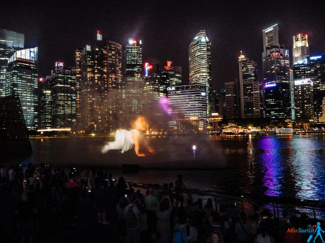 WONDER FULL light ans water show Singapore what to do in singapore
