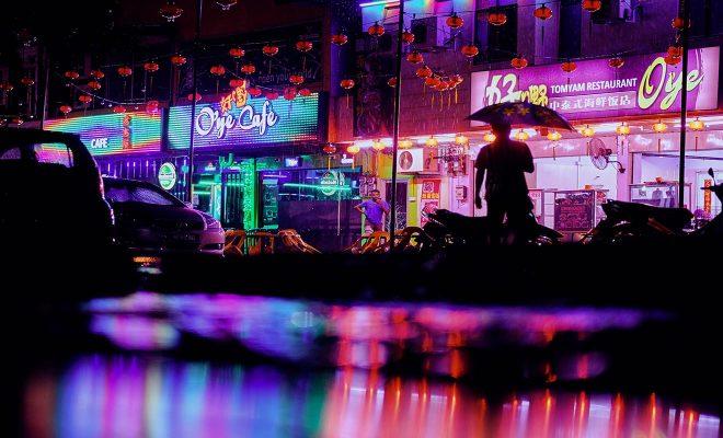 langkawi city lights