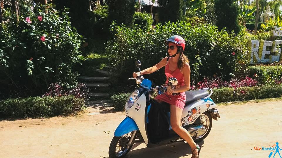 rent a motorbike pai