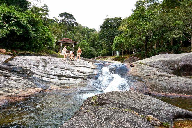 langkawi waterfall