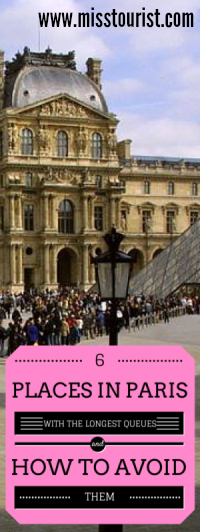 Avoid queues in Paris secrets