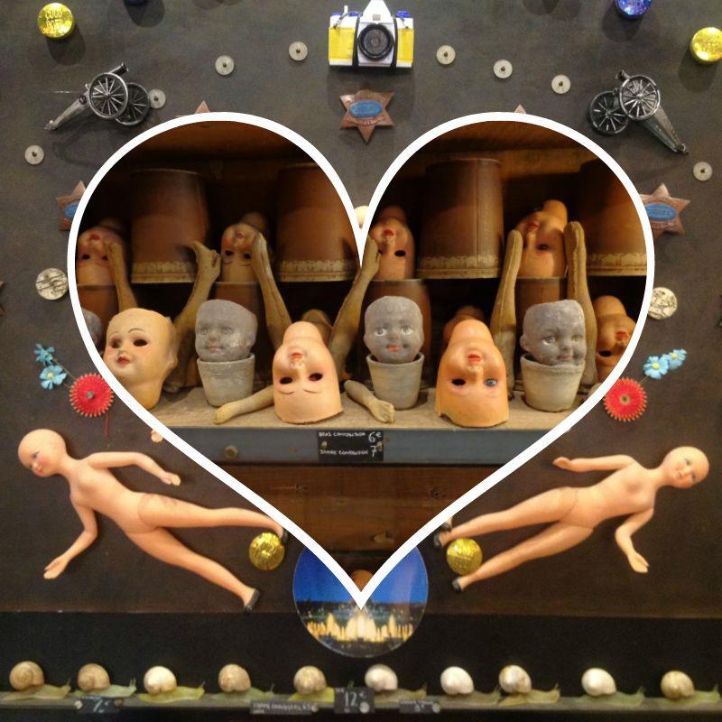 Dolls store Saint Ouen flea market