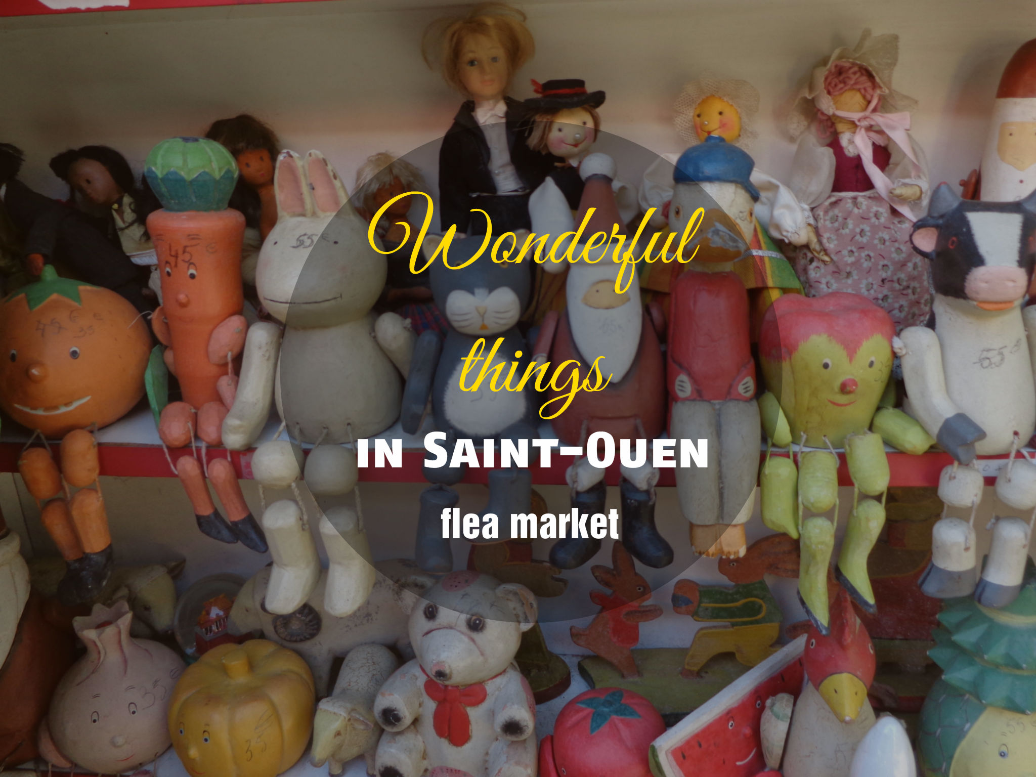 Wonderful things you can find in Saint Ouen flea market, Paris