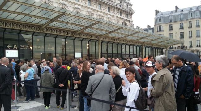 musee d'orsay queue paris