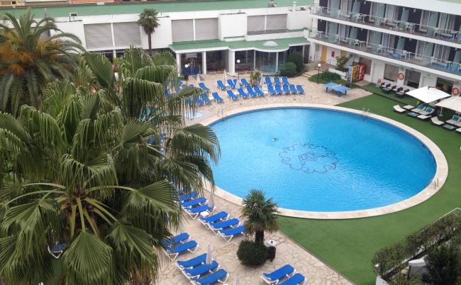 Anabel hotel Lloret de MAr view