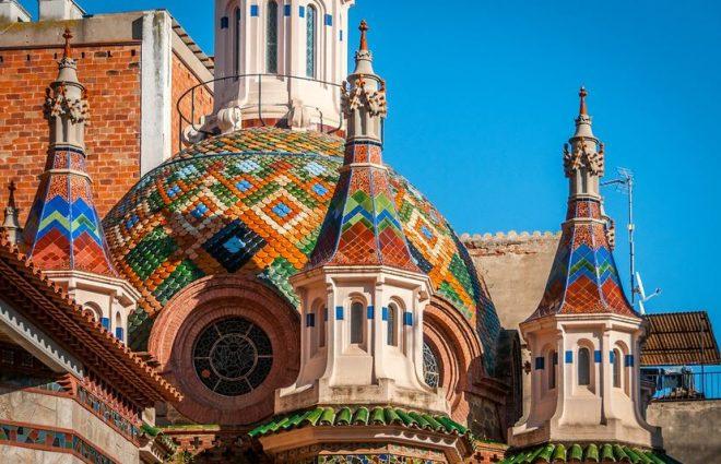 sant roma church lloret de mar