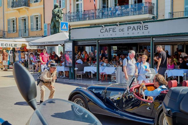 A Weekend In Saint Tropez 7 Things To Do In Saint Tropez France cafe in saint tropez