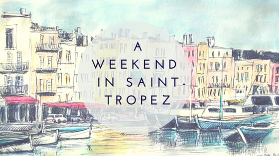 A weekend in sAint Tropez cover2