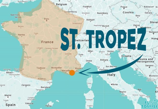 where is st tropez