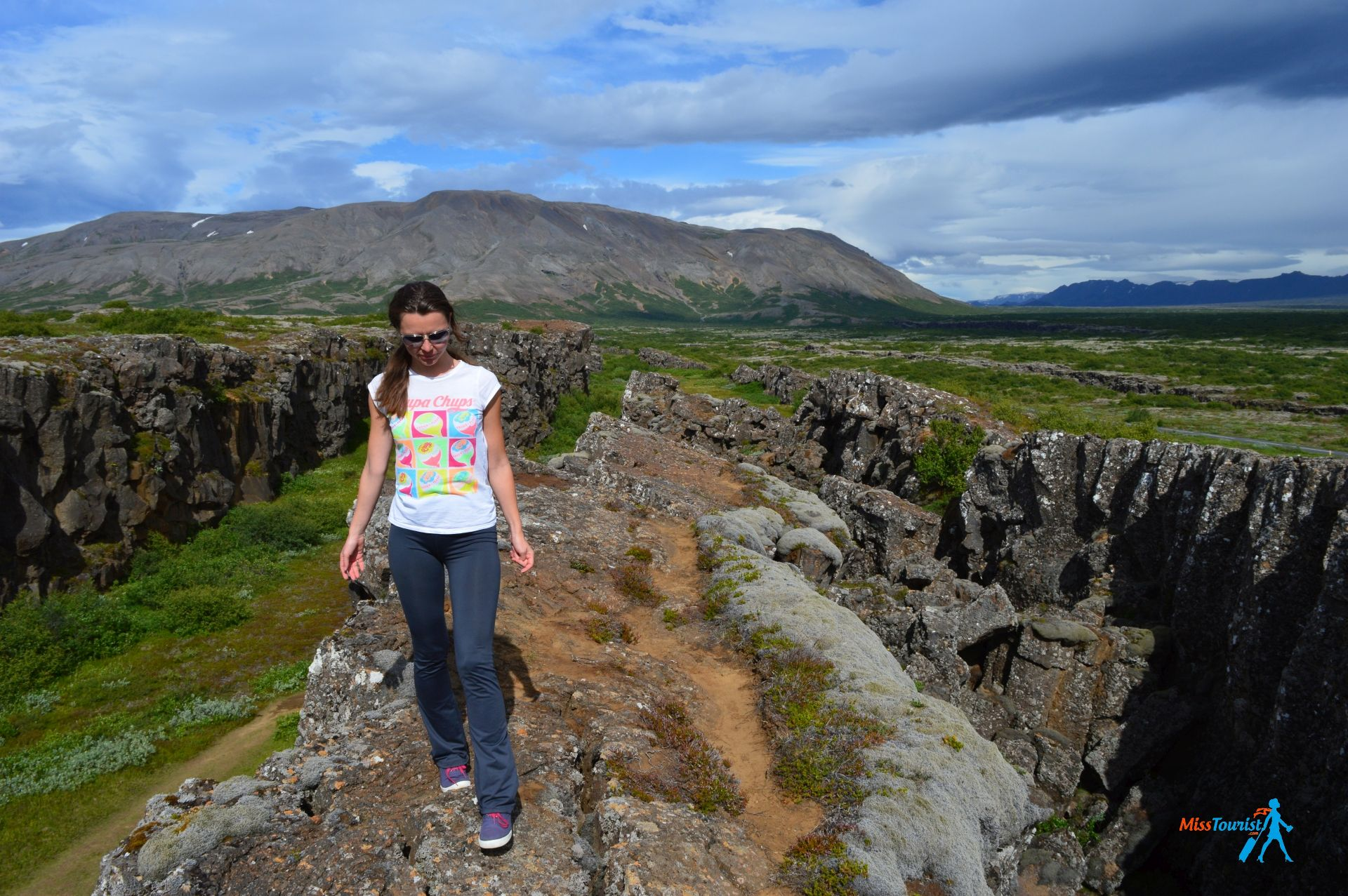 Thingvellir National park iceland rift