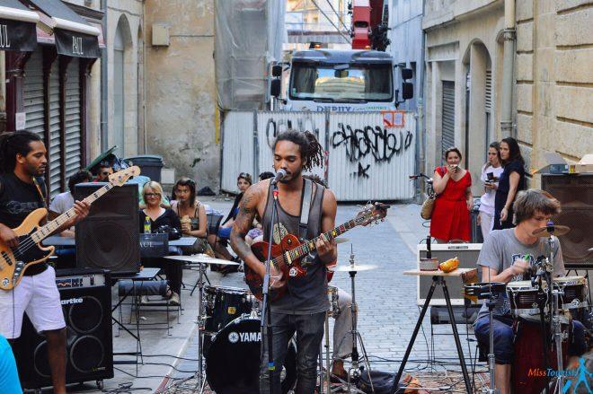 Fete de la musique Bordeaux France