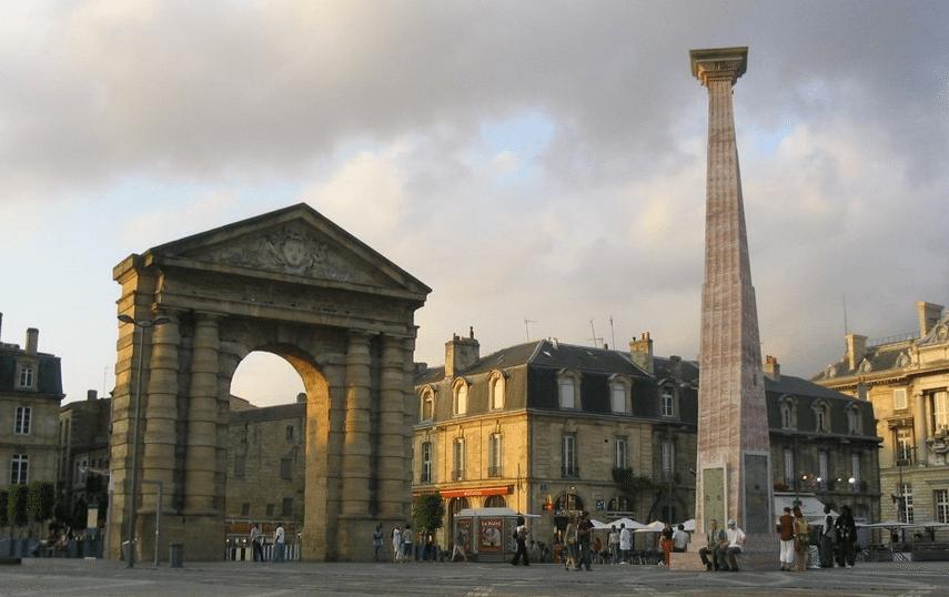 Place de la victorie Bordeaux