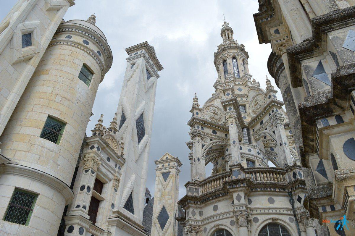 Chateau de chambord val de loire france