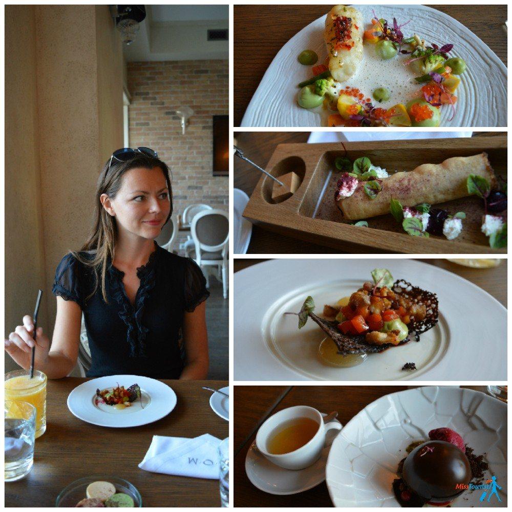 DOM restaurant fine dining Tallinn Estonia