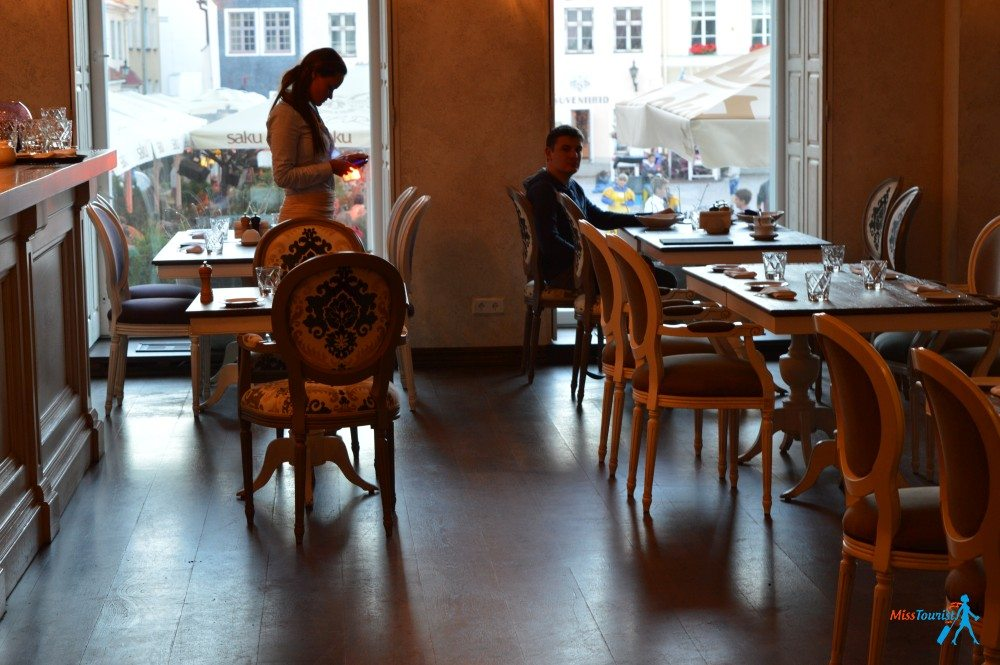 Dom gourmand restaurant Tallinn