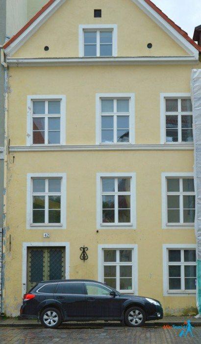 Tallinn old town house