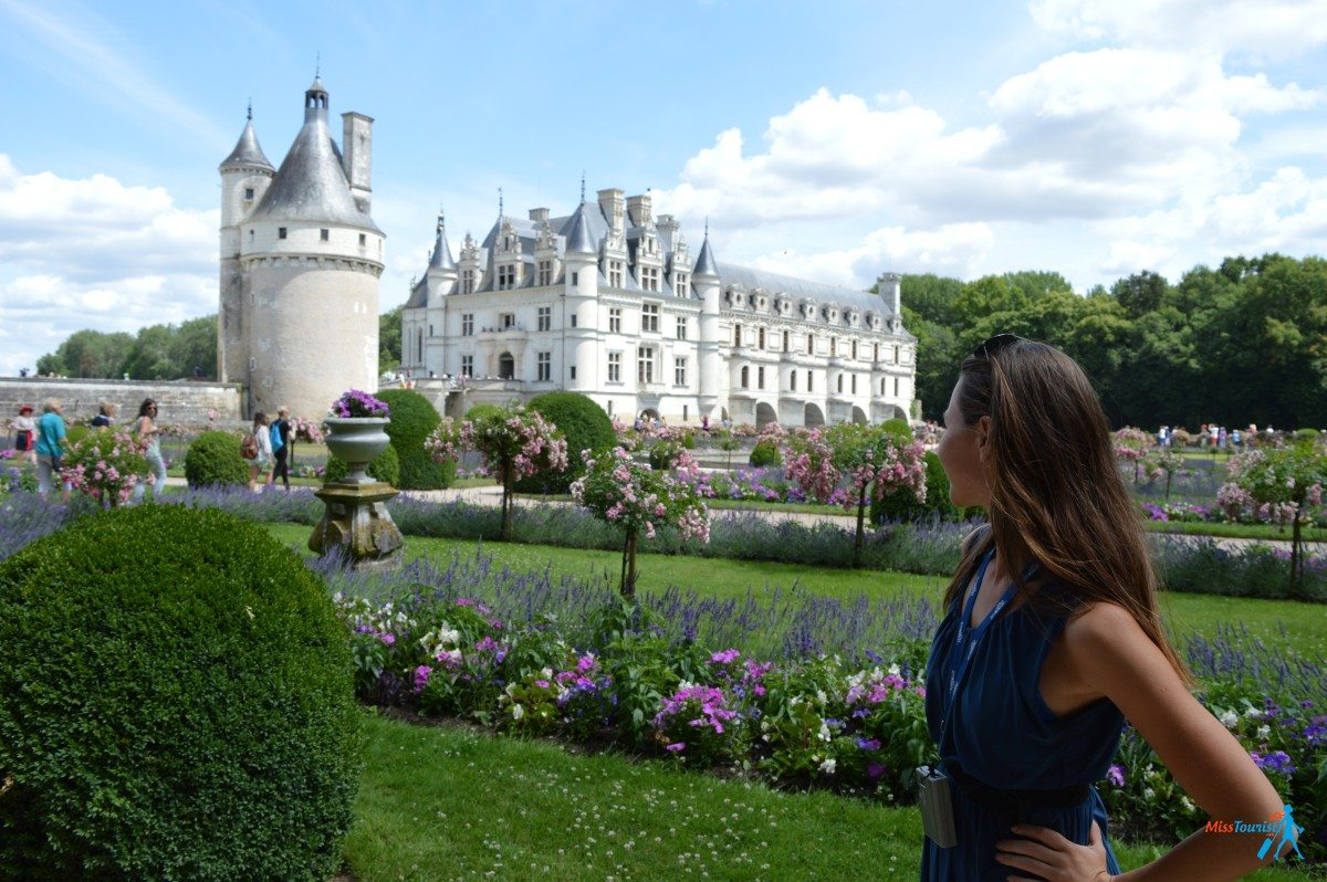 chateau chenonceau view france