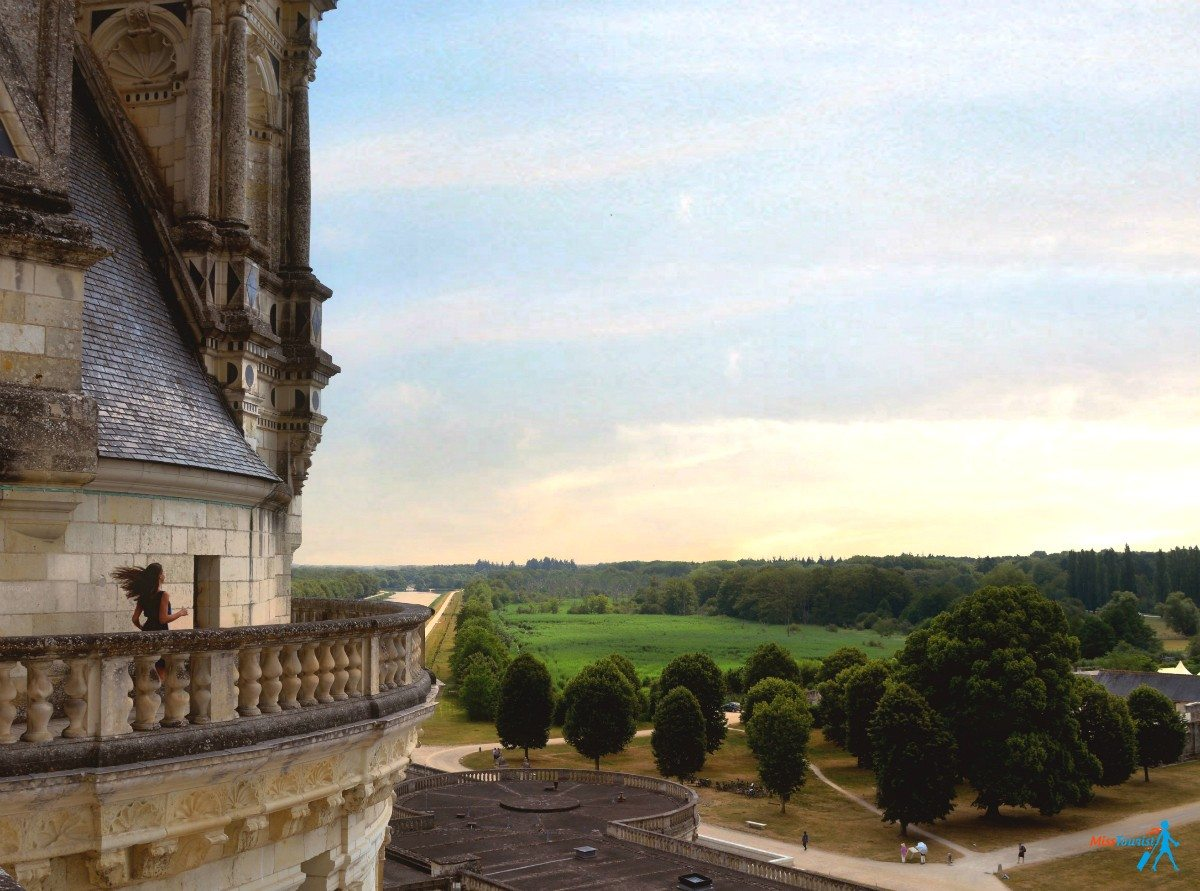 chateaux chambord view