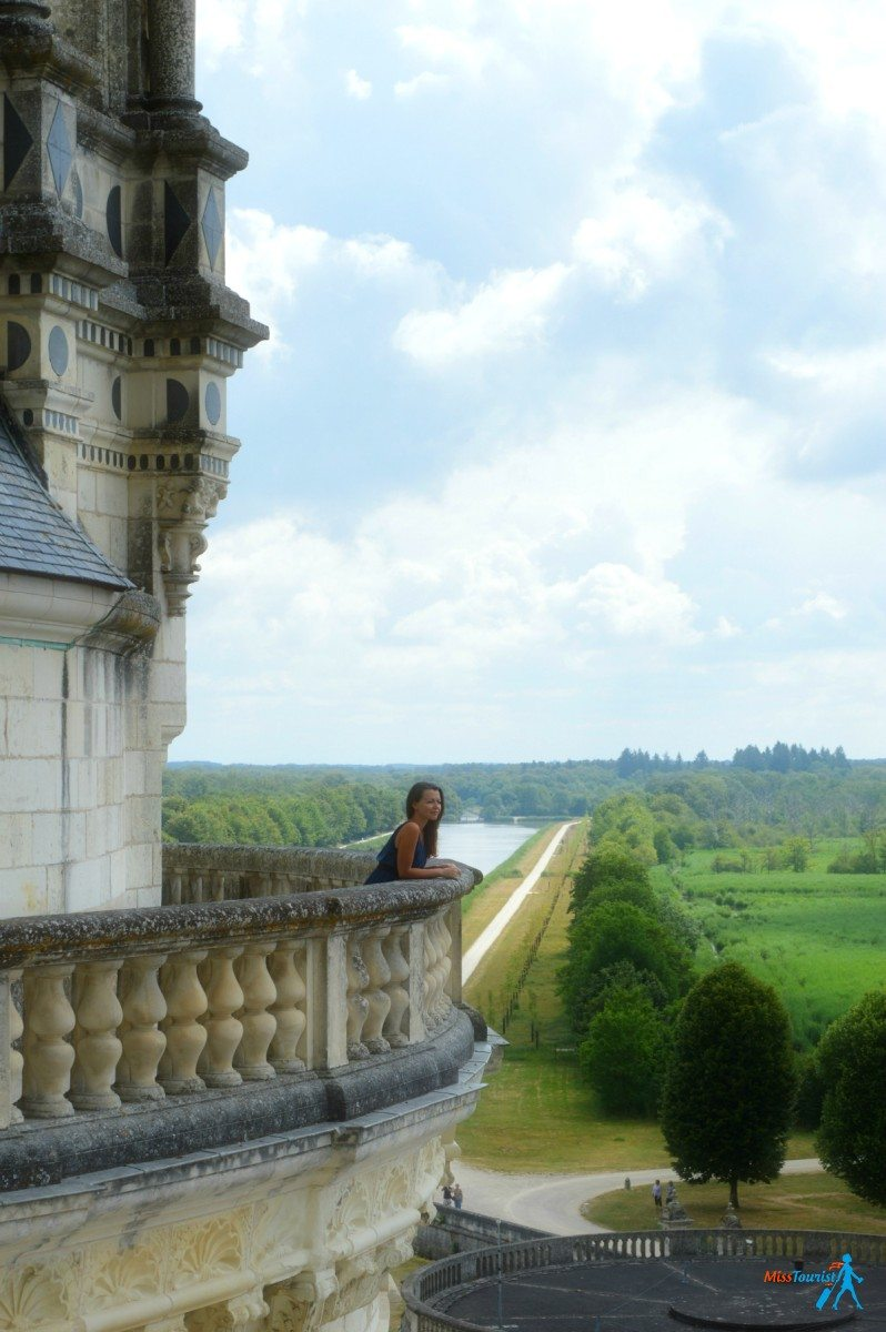 loire valley view chambord