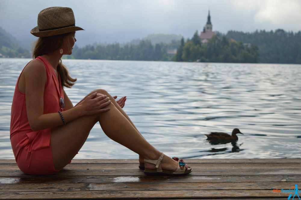 Bled in Slovenia island