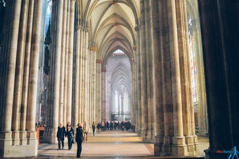 cologne cathedral inside - Koln Must See