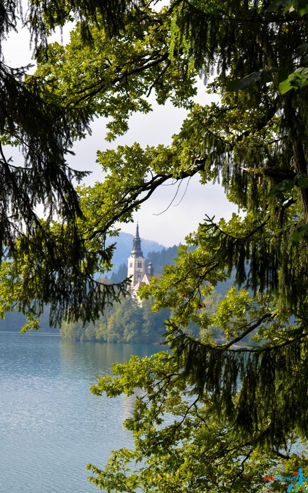Lake Bled view Slovenia