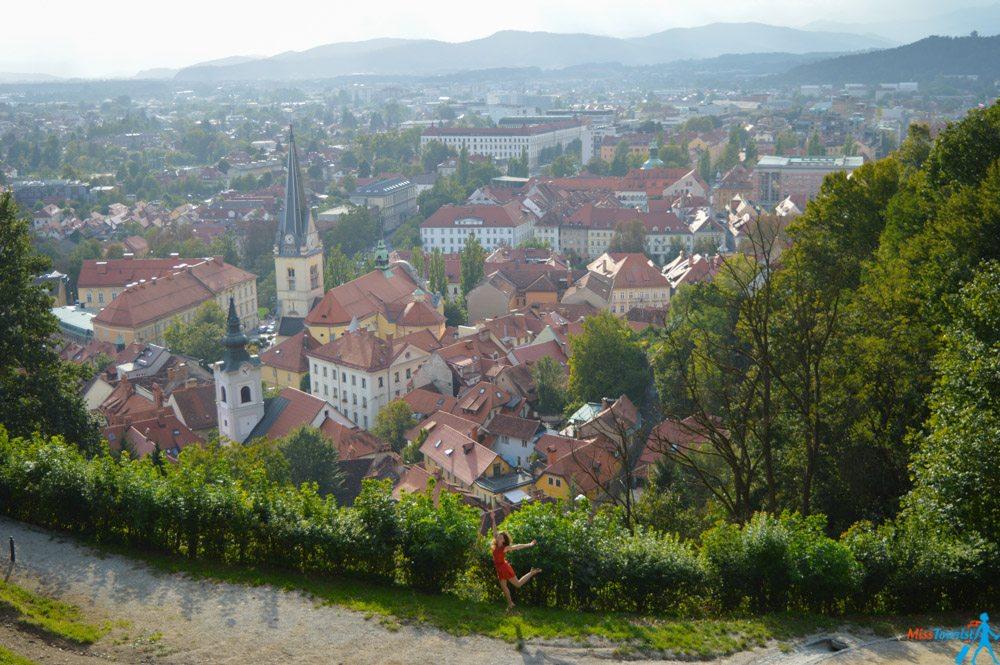 Ljubljana castle Slovenia_