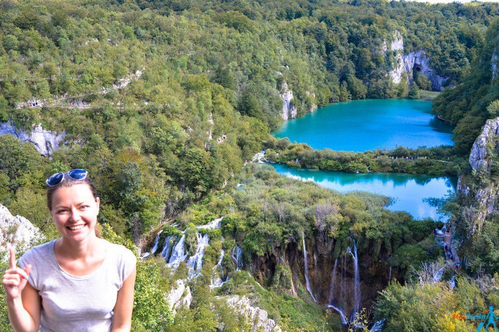 Plitvice Vidikovac view